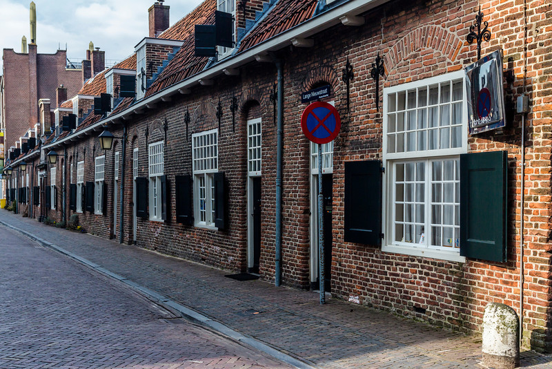 THE NETHERLANDS-UTRECHT-ALMSHOUSES