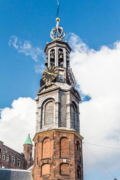 THE NETHERLANDS-AMSTERDAM-MUNTTOREN