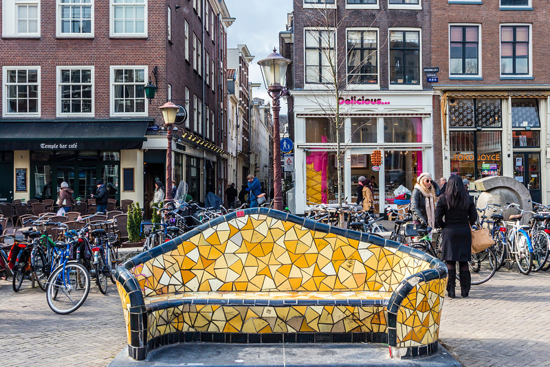 THE NETHERLANDS-AMSTERDAM-COUCH