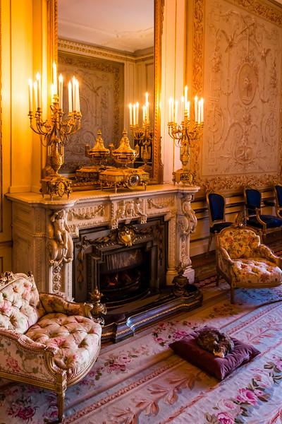 THE NETHERLANDS-AMSTERDAM-WILLET-HOLTHUSYEN MUSEUM-LIVING ROOM