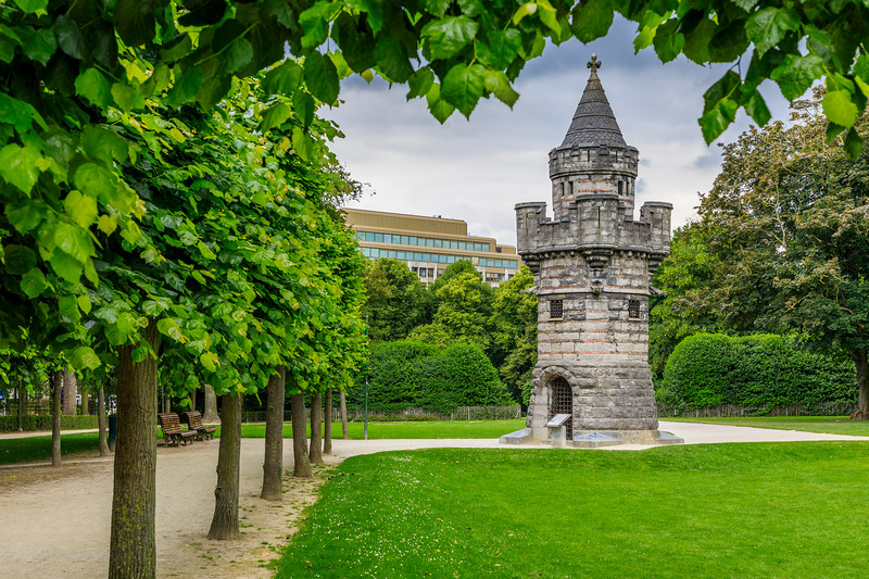 Belgium-Brussels-Capital Region-Parc du Cinquantenaire