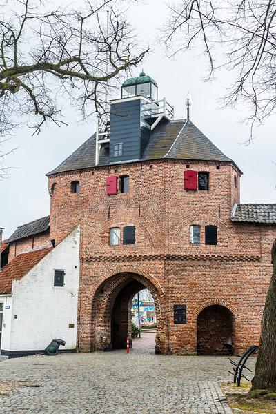 THE NETHERLANDS-HARDERWIJK-HARDERWICK LIGHTHOUSE