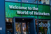THE NETHERLANDS-AMSTERDAM-HEINEKEN SHOP
