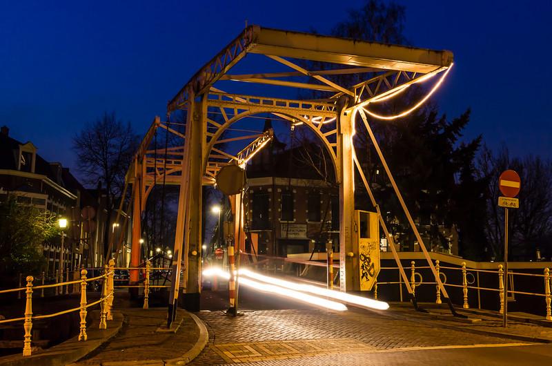 THE NETHERLANDS-UTRECHT-MAGERE BRUG [skinny bridge]