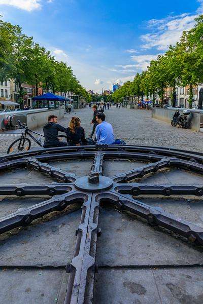 Belgium-Brussels-Capital Region-Marche aux Poissons