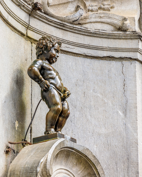 Belgium-Brussels-Capital Region-Manneken Pis