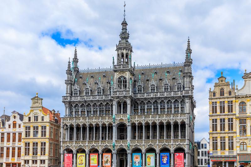 Belgium-Brussels-Capital Region-Grand-Place-Musee de la ville de Bruxelles