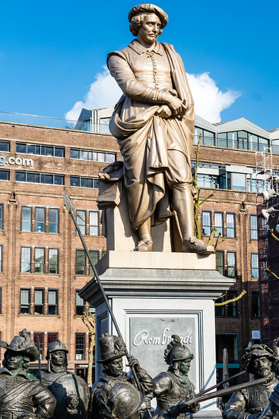 THE NETHERLANDS-AMSTERDAM-REMBRANDTPLEIN
