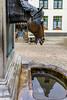 Belgium-Brugge-Horse Head Drinking Fountain