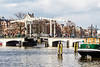 THE NETHERLANDS-AMSTERDAM-AMSTEL RIVER-MAGERE BRUG [skinny bridge]