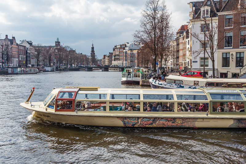 THE NETHERLANDS-AMSTERDAM-AMSTEL RIVER