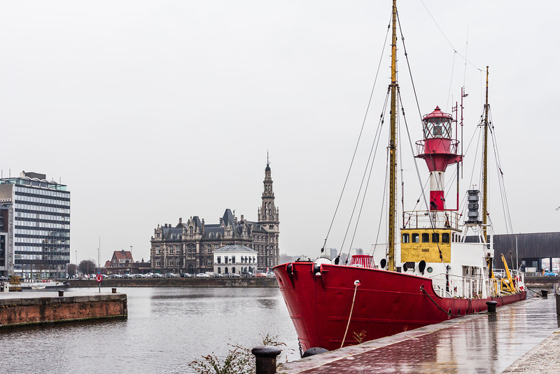 BELGIUM-ANTWERP-WEST HINDER LIGHTSHIP