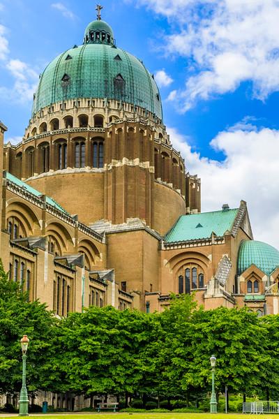Belgium-Brussels-Capital Region-National Basilica of the Sacred Heart in Koekelberg