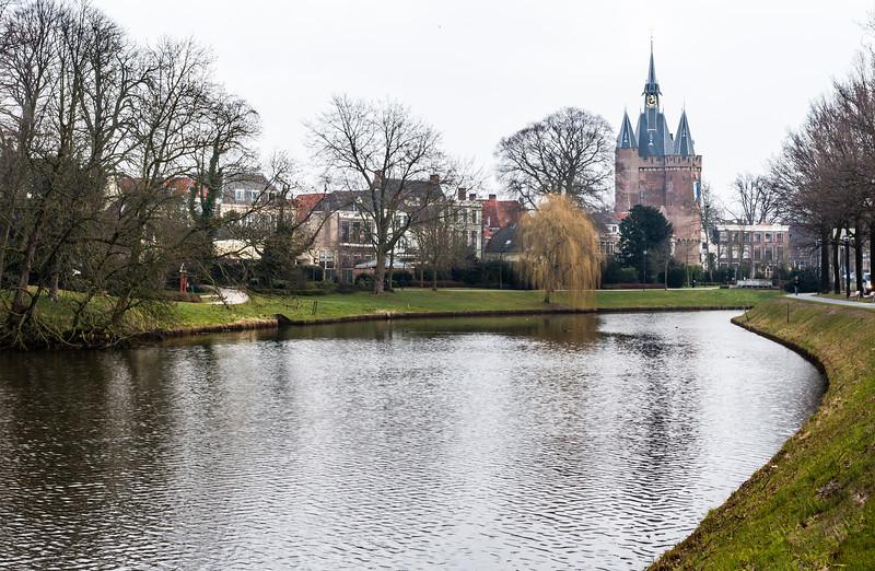 THE NETHERLANDS-ZWOLLE-SASSENPOORT GATE