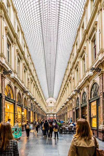 Belgium-Brussels-Capital Region-Galeries Royales St-Hubert