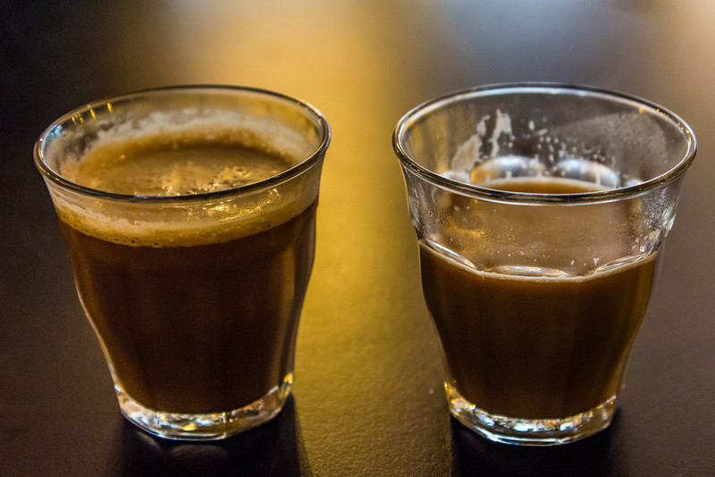 THE NETHERLANDS-LISSE-TWO COFFEES