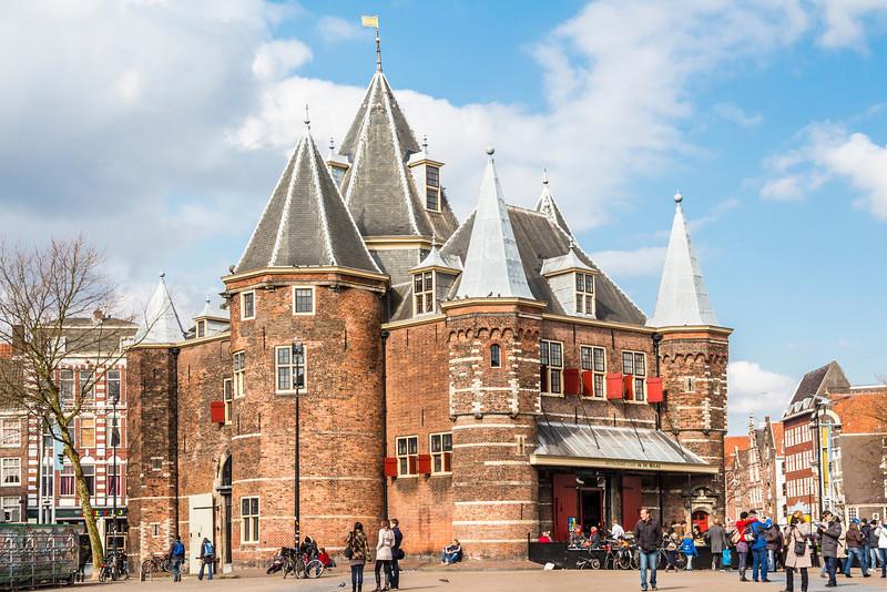 THE NETHERLANDS-AMSTERDAM-NIEUWMARKT