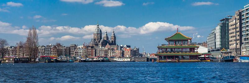 THE NETHERLANDS-AMSTERDAM-SKYLINE