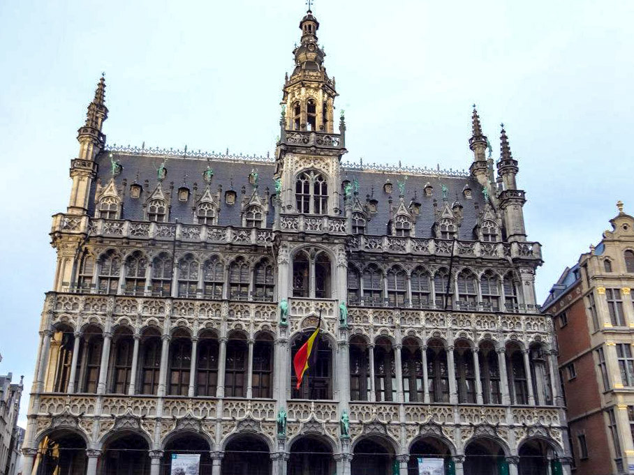 Don't forget to go to Grand Place if you stop in Brussels on your backpacking route through Europe