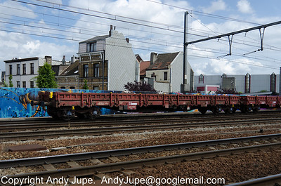 R Coded (88) (Ordinary flat wagon with bogies)