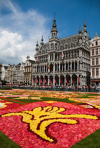 Flower carpet in Brussels 2010 - Brussels symbol