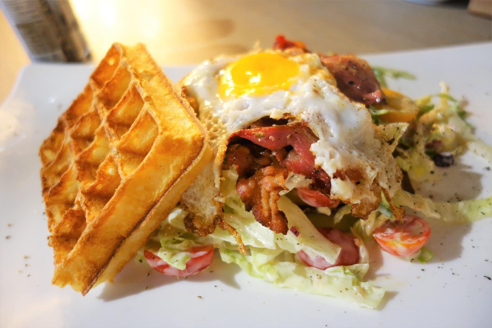 house of waffles breakfast waffle