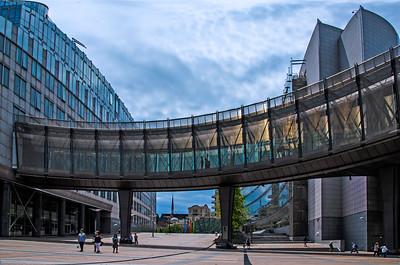 Modern Buildings of Brussels