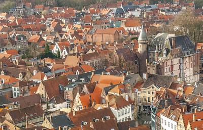 Rooftops of Bruges
