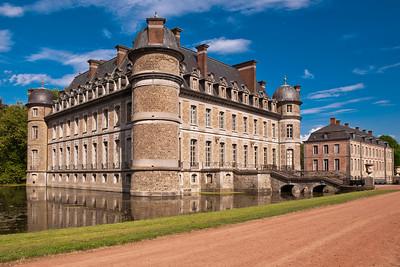Beloeil castle in Belgium