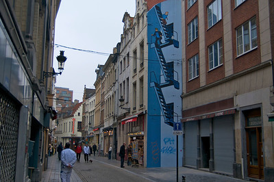 Building art in Bruxelles