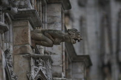 Gargoyle in Grand Place