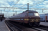 """The unmistakeable """"snout"""" of SNCB 802 is well to the fore at Antwerpen Berchem on 24 May 2005"""