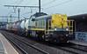 7869 runs through Antwerpen Noorderdokken with a liner service on 31 August 2006