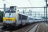 SNCB 1330 departs from Antwerpen Berchem on the rear of a train to Centraal on 31 August 2006