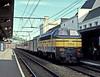 SNCB 5304 waits at the rear of a passenger service to Dinant at Namur on 6 October 1990