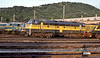 SNCB 5211 is pictured in the yard of Ronet depot on 16 July 1989 in glorious evening sunshine