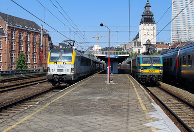 1894 & 2753 at Brusssel Chapelle on 7th June 2013