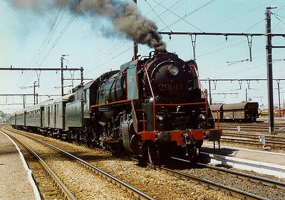 steam, 29013 at Merelbeke on 15th June 1996