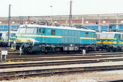 1501 at Kinkempois Depot on 24th May 2003