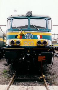 1505 at Kinkempois Depot on 21st February 1998