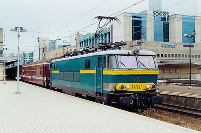 1601 at Brussel Nord on 23rd May 2003