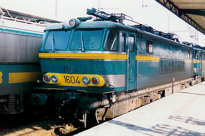1604 at Oostende on 19th April 1998