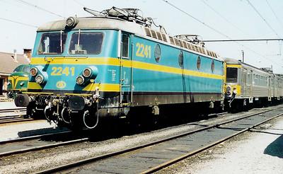 2241 at Saint Ghislain Depot on 19th June 1999