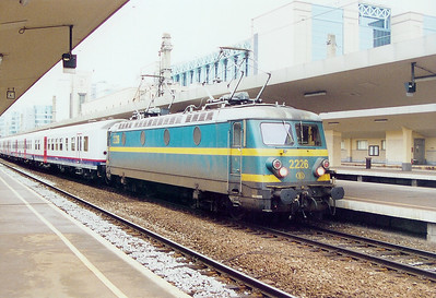 2226 at Brussel Midi on 23rd May 2003