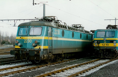 2230 at Kortrijk Depot on 15th February 1997