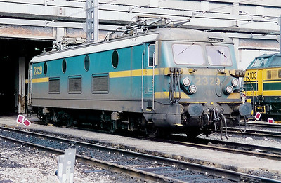 2329 at Schaarbeek Depot on 20th June 1998