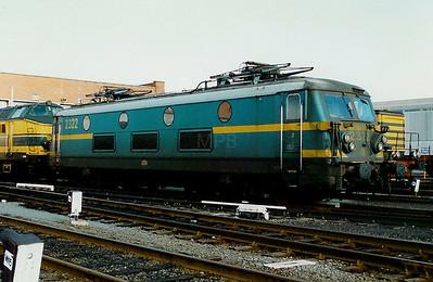 2322 at Merelbeke Depot on 15th February 1997