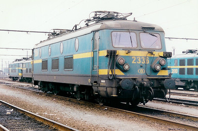 2336 at Schaarbeek Depot on 21st February 1998