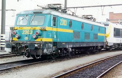 2303 at Merelbeke Depot on 3rd June 2000