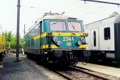 2344 at Hasselt Depot on 24th May 2003